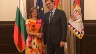 Вучич към Захариева: Благодаря за подкрепата за европейския ни път