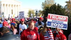 Арести след сблъсъци между поддръжници и противници на Тръмп във Вашингтон