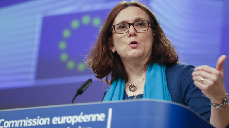 ЕС апелира САЩ да се спре и да не води търговска война със съюза