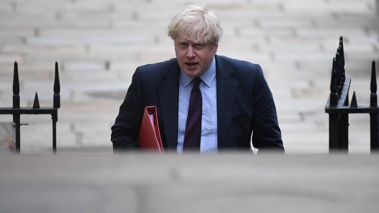 Министърът на външните работи на Великобритания Борис Джонсън заяви, че