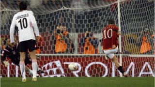 """""""Римските вълци"""" отвяха Палермо с два гола на Мансини"""