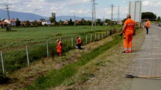 Проверяват загражденията по магистралите до края на седмицата