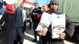 Русия достави 4 тона хуманитарна помощ на Сирия
