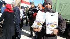 Предоставяме хуманитарна помощ на Ирак, Сирия, Афганистан и Йемен