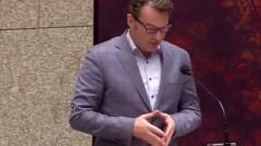 Активист се опита да се самоубие по време на дебати в холандския парламент
