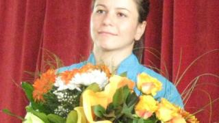 Сребърна самбистка е номер едно в Локо (София)