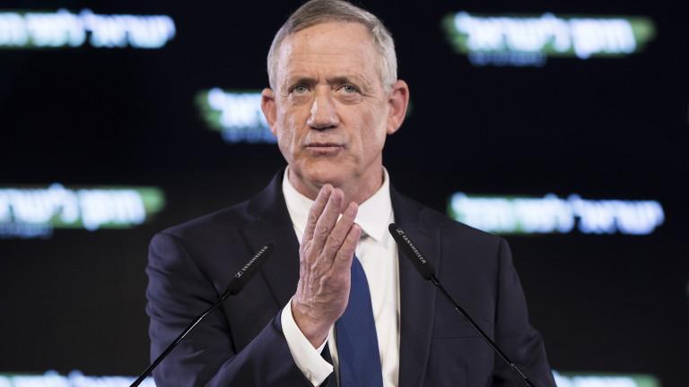 Бени Ганц приема позицията на Нетаняху за Иран