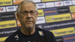 Ларс Лагербак: Най-силният отбор в групата сме