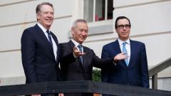 Оптимизъм след първия ден на търговските преговори между САЩ и Китай