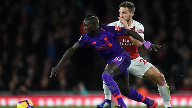 Арсенал - Ливърпул 1:1, Лаказет изравни