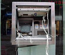 Обраха банкомат в Асеновград