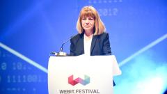 Кметът на София Йорданка Фандъкова председателства конференцията за умни градове в рамките на Webit.Festival