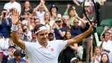 """Роджър Федерер също продължава напред в """"Уимбълдън"""""""