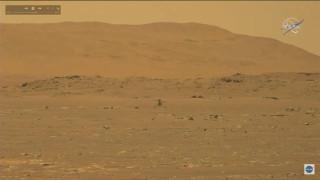 НАСА успешно тества малък хеликоптер на Марс