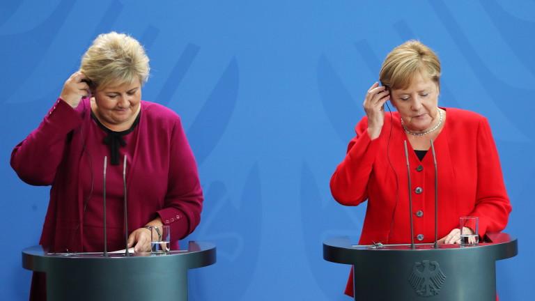 Премиерът на Норвегия Ерна Солберг призова за оставане на Турция