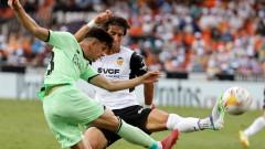 Драма в последните минути доведе до равенство между Валенсия и Атлетик (Билбао)
