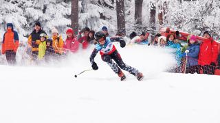 Близо 300 деца се включиха в ски надпревара (СНИМКИ)