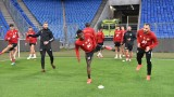 Дани Ганчев надъха ЦСКА преди тренировката
