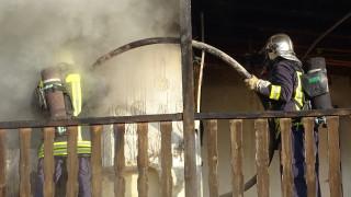 Възрастен мъж изгоря в дома си в Монтанско