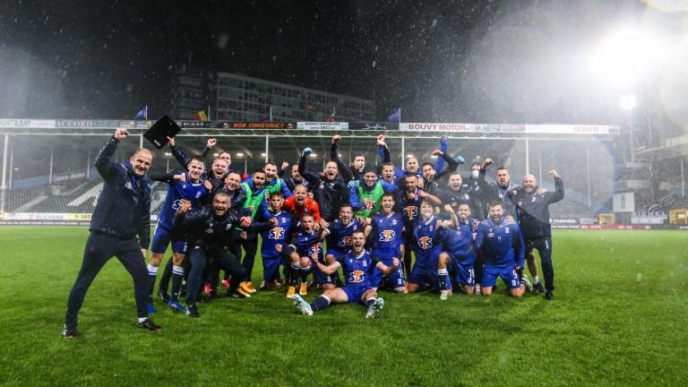 Шарльороа на Иван Горанов не успя да влезе в групите на Лига Европа