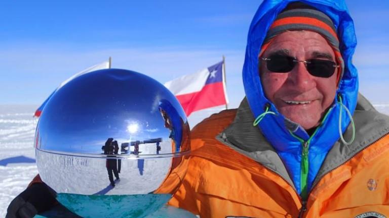 Снимка: Проф. Христо Пимпирев: Антарктида е като друга планета, без надеждна екипировка може и да не оживееш