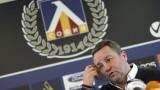Славиша Стоянович с ограничена група здрави футболисти в Левски
