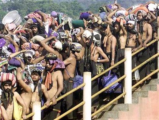 Позволиха на служителите на храм да носят бельо