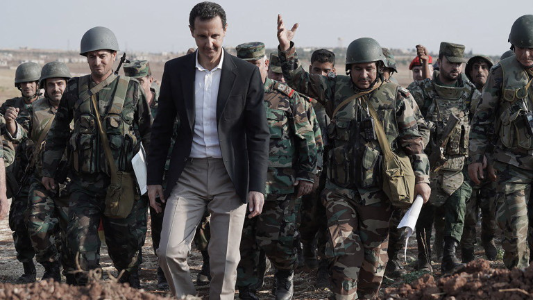 Сирийският президент Башар Асад обяви, че САЩ са използвали терористичната