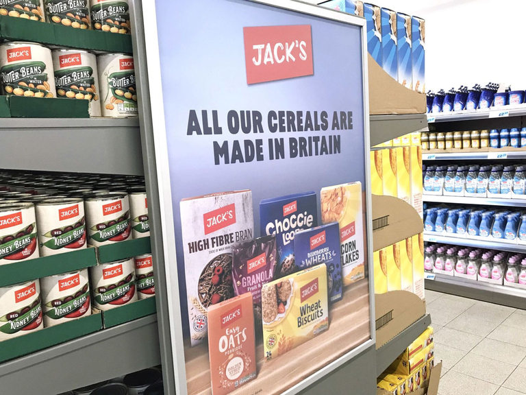 Британските продукти са основен акцент в новата верига