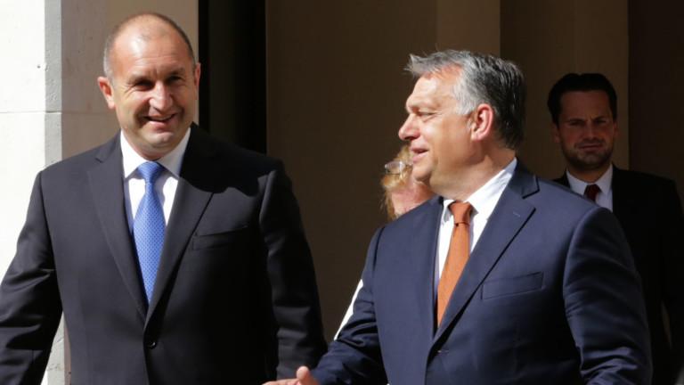 Президентът Радев и унгарският премиер Виктор Орбан обсъдиха необходимостта от