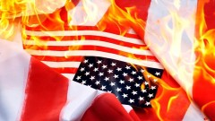 Тръмп одобрява забраната за изгаряне на американското знаме