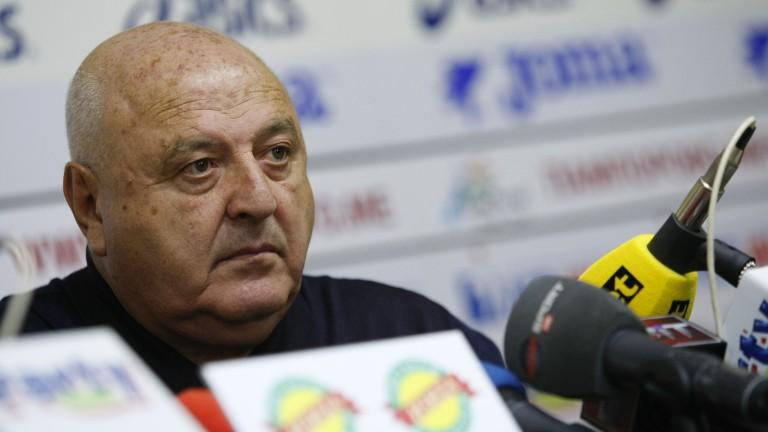 Венци Стефанов: Нямаме нужда от ВАР, съдиите ни се справят много добре