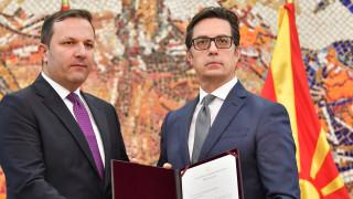 Оливер Спасовски получи мандат за служебно правителство на Северна Македония
