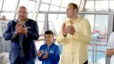 """Министър Кралев откри международния плувен турнир """"Златоперки"""""""