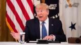 Тръмп горд, че САЩ са начело по поразени от COVID-19, било знак за качество