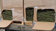 """Намериха 2 тона канабис в камион на """"Дунав мост 2"""""""