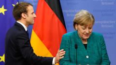Меркел и Макрон искат ускоряване на споразуменията от Минск