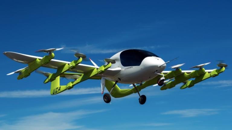 Стартиращата компания за летящи автомобили Kitty Hawk на съоснователя на
