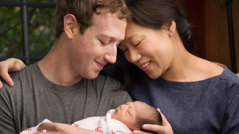 Марк Зукърбърг стана баща и обяви, че ще дари 99% от акциите си във Facebook
