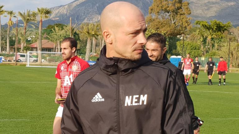 Старши треньорът на ЦСКА Нестор ел Маестро даде интервю за