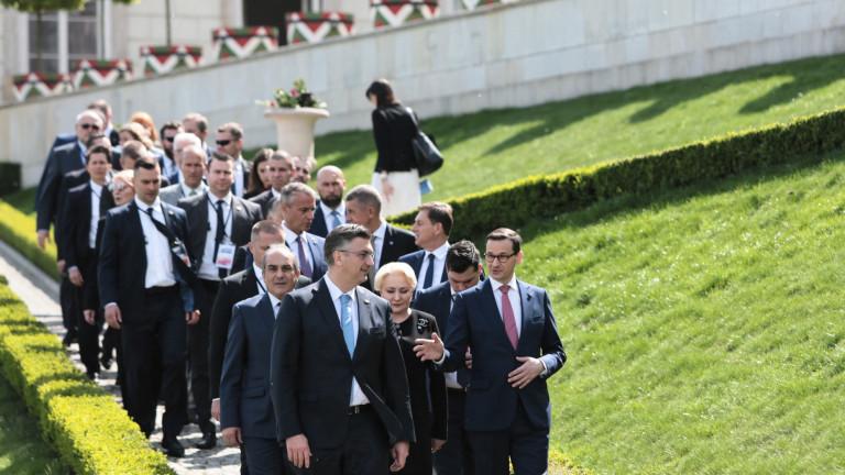 12-те във Варшава се обявиха за единство и равнопоставеност в ЕС