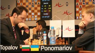 """Нова блестяща победа на Топалов на """"М-Тел Мастърс  2006"""""""