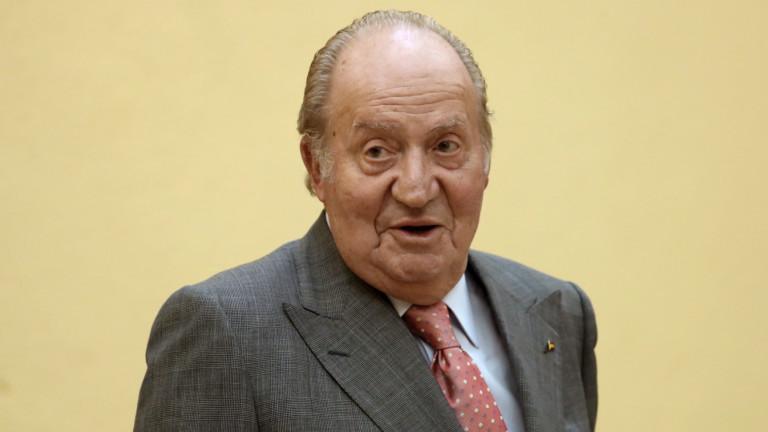 Бившият крал на Испания Хуан Карлос отлетя в Абу Даби
