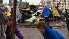 11 ранени при инцидент с увеселително влакче до Глазгоу