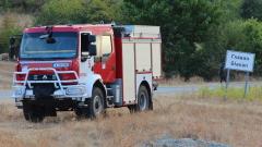 Пожарът между селата Мъдрец и Главан се разраства