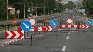 """Затварят част от """"Цариградско шосе"""""""
