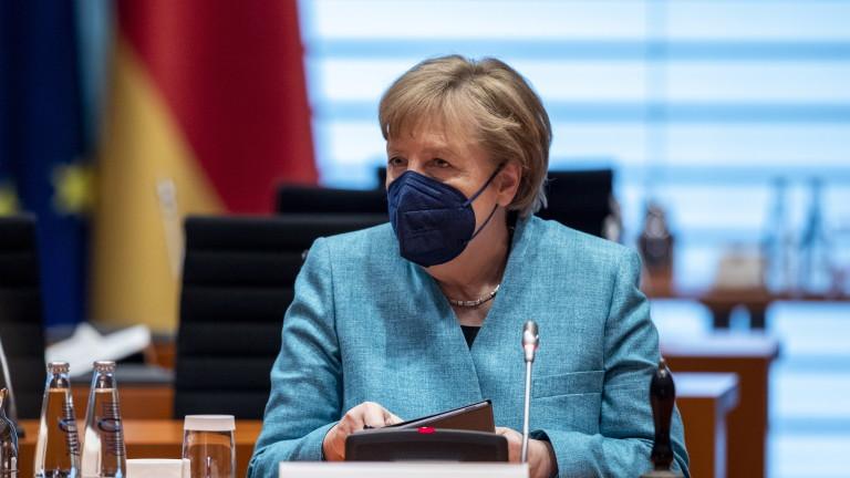 Меркел взема Саксония - Анхалт