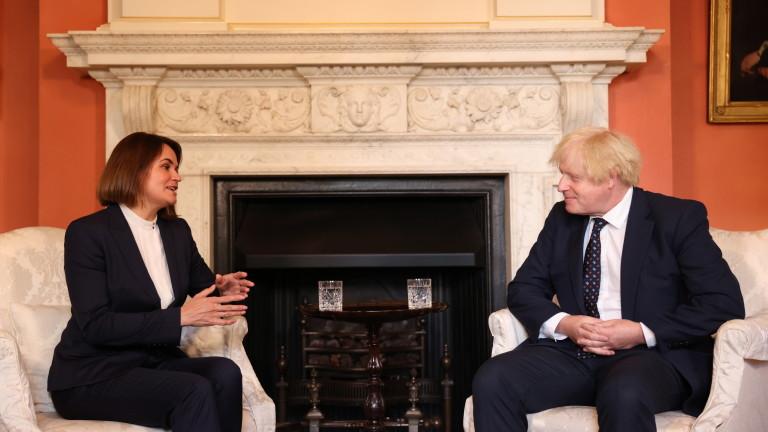 Британският премиер Борис Джонсън обяви, че е на страната на