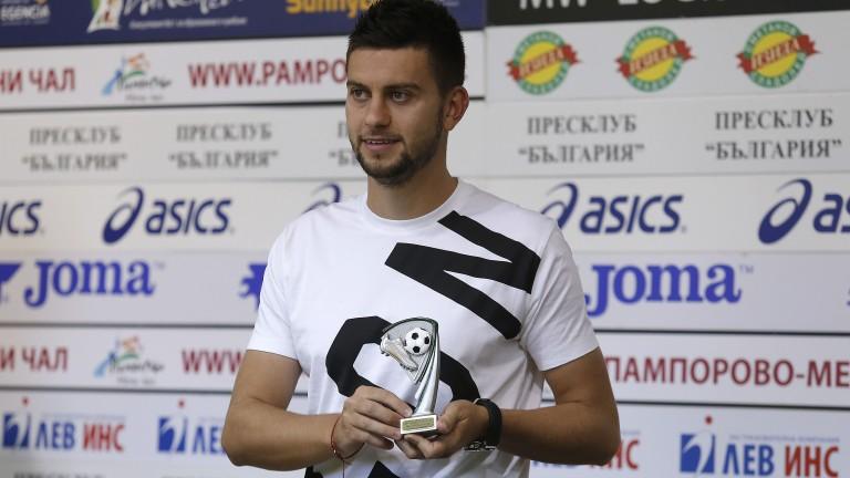 Нападателят на Левски Станислав Костов: Не съм очаквал да бъда голмайстор на първенството