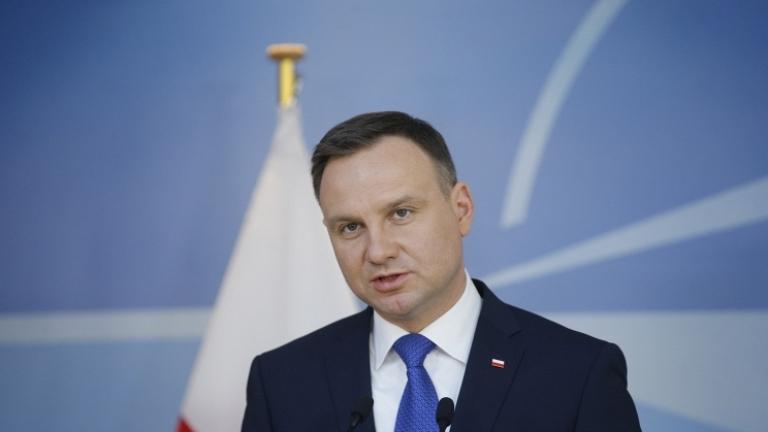 Президентът на Полша Анджей Дуда не изключи вариант изборите за